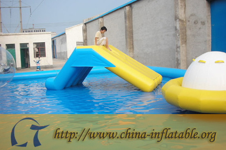 Kids and adult inflatable water slide