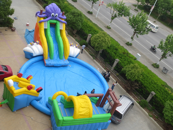 Hot Sale Inflatable Water Slide