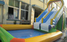 LeTian inflatable water slide LT-0114004