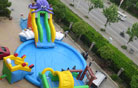 LeTian inflatable water slide LT-0114032