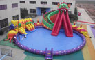 LeTian inflatable water slide LT-0114033