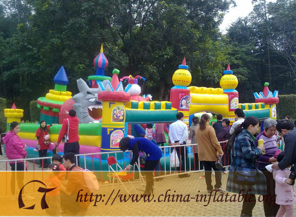 Kids inflatable bouncy castle for sale