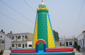 Inflatable climbing, inflatable climbing tower, inflatable climbing for sale